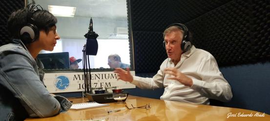 José Eduardo Abadi en Radio Milenium Año 2018