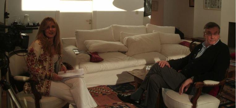 Líderes Hoy - por Canal 26, donde fui entrevistado por Cecilia Luchía Puig.
